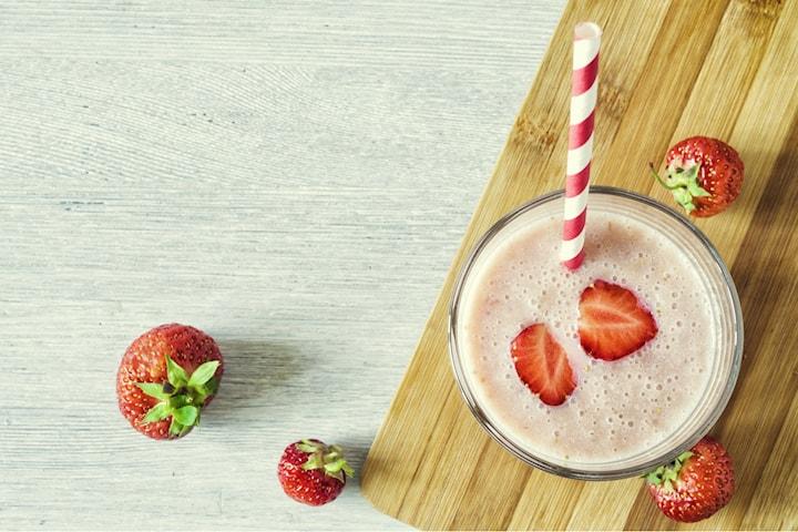 Näringsrik och hälsosam smoothie från Blueberry