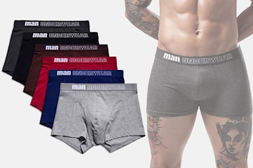 Boxershorts 3- eller 6-pack