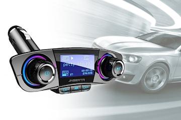 Smart FM-sändare för bilen