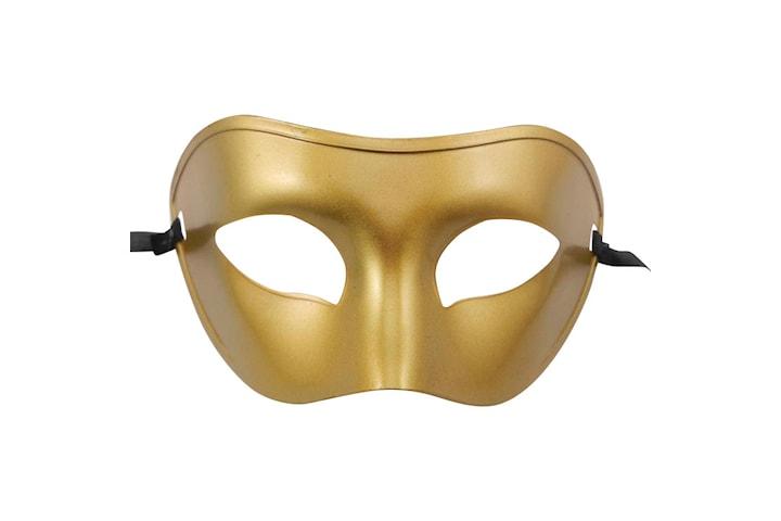 Venetian Maskerade - Halloween Maske - Gull