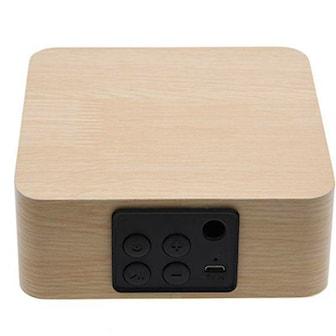 Light Wood, Wooden Bluetooth Speaker, Mini Bluetooth-högtalare, ,