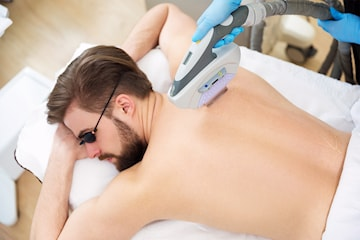 Permanent hårborttagning med IPL-laser