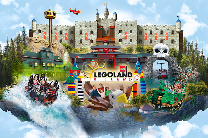 LEGOLAND®: Tvådagarspass för hela familjen