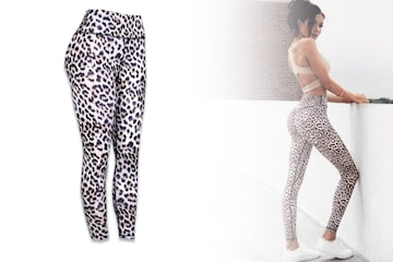 Leggings med push up-effekt