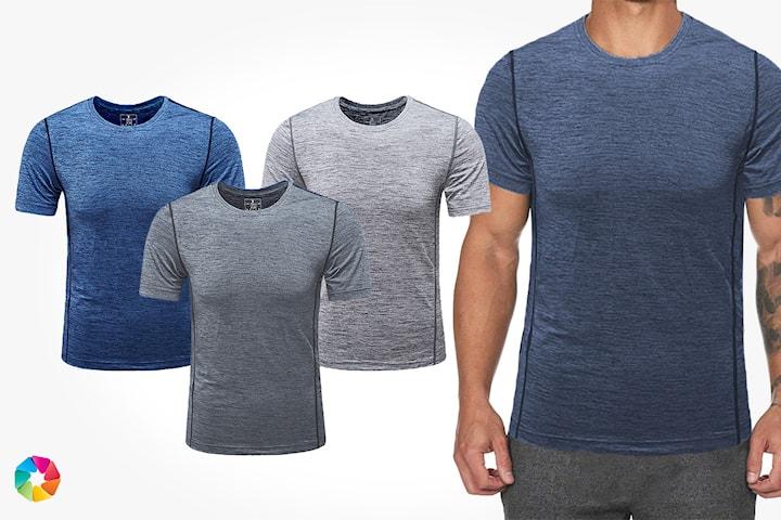T-shirt för träning 2-pack
