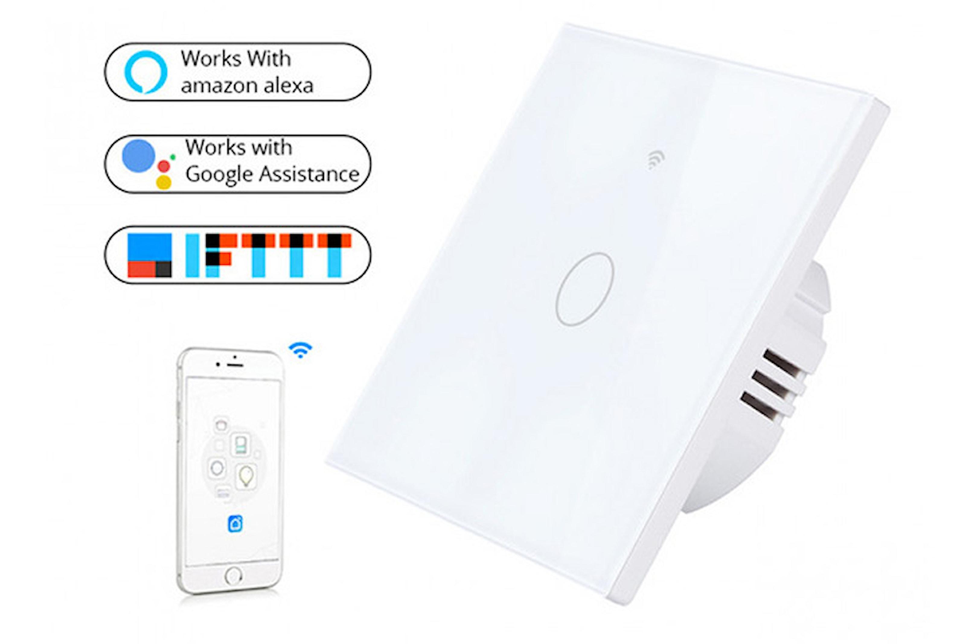 Smart strömbrytare med Wifi