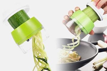 Spiralkutter for grønnsaker