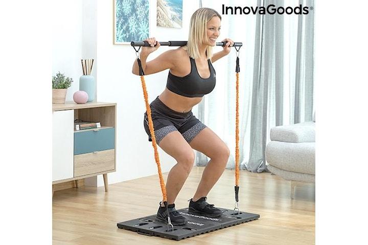 Gympak Max - Komplett Bärbart Hemmagym + Träningsguide