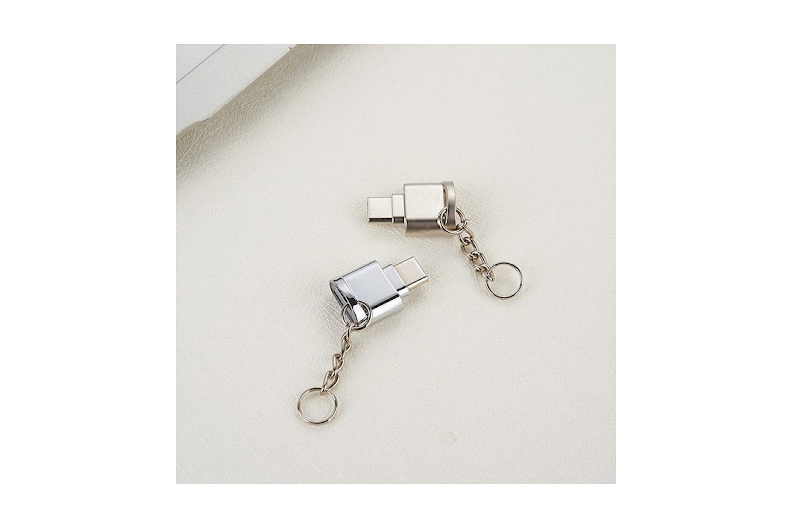 Minneskortsläsare, USB-C