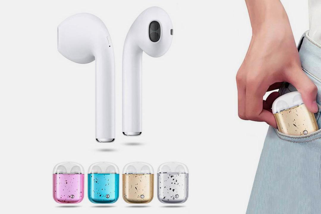 Trådlösa Bluetooth-hörlurar i7s TWS (1 av 10)