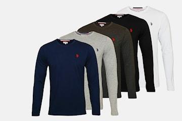 US Polo långärmad tröja