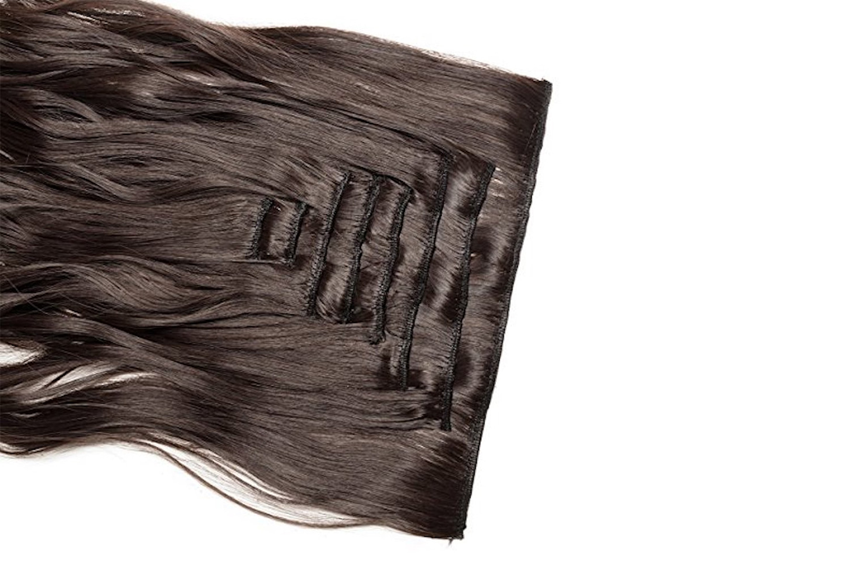 Hair extensions for krøllete hår
