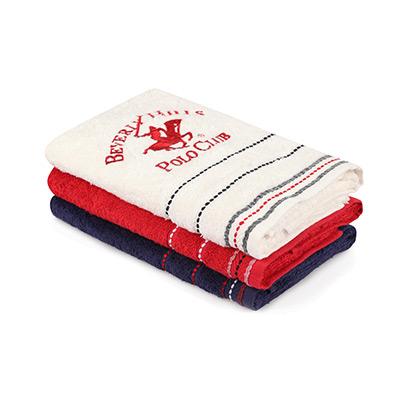 Hvit, Mørkeblå, Rød, Hand Towels, 3 Pieces, Lite Håndkle, 3 stk,  (1 av 1)