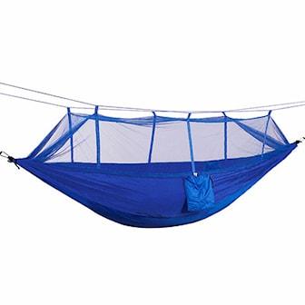 Blå, Hanging Hammock Mosquito Net, Hängmatta med myggnät, ,