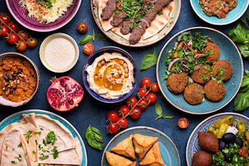 Libanesisk catering, 10 rätter