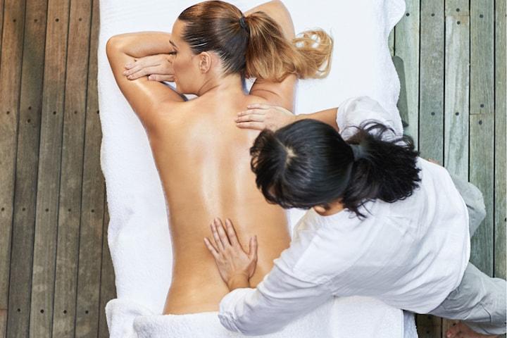 Ischias- och höftmassage med triggerpoint
