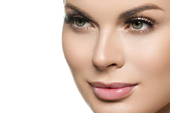Vippeløft med farging hos Kosmetisk Lege
