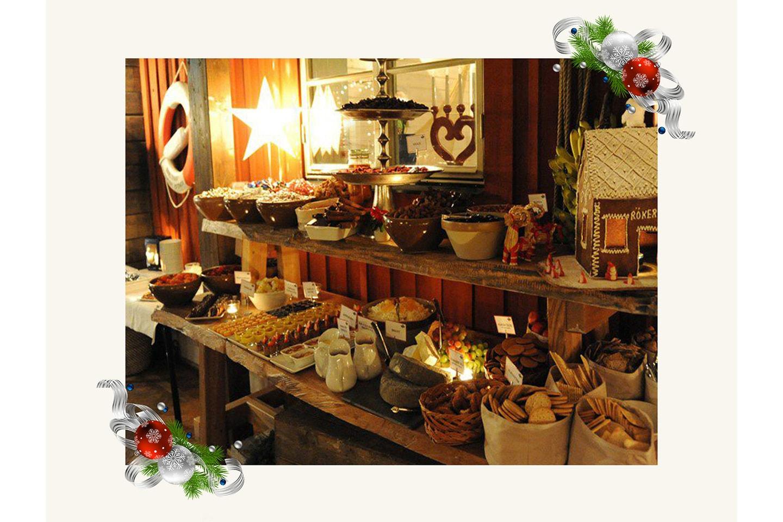 Julpaket för 2 på Hotel Karlaplan och Rökeriet på Fjäderholmarna