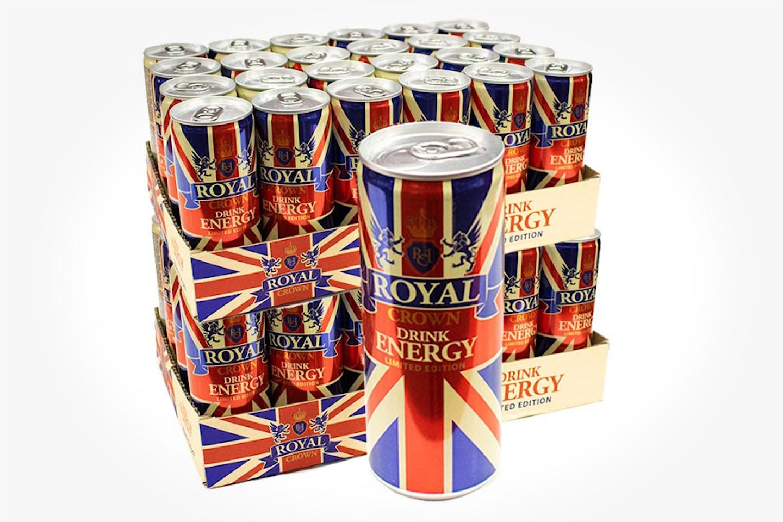 Royal Crown Energy, 48-pack
