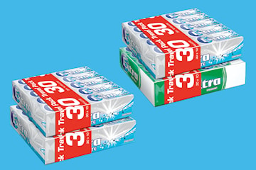 Extra tyggegummi Spearmint eller Sweetmint 2 x 30-pack