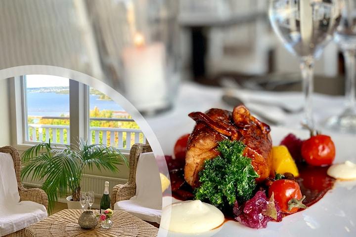Två nätter i dubbelrum inkl. frukost vid vackra Siljan i Dalarna