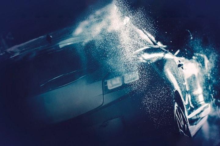 In- och utvändig biltvätt samt Maskin Nano Goldenvax