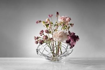 Orrefors Bloom Vas, Klarglas