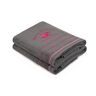 Mørkegrå, Bath Towels, 2 Pieces, Badehåndkle, 2 stk,  (1 av 1)