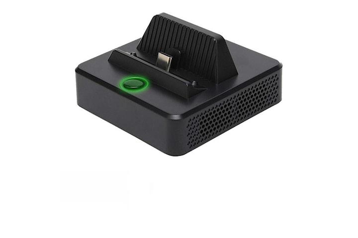 Nintendo Switch laddstation och HDMI-adapter