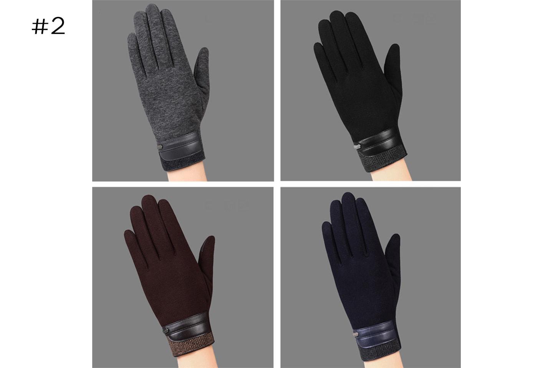 Touch-handskar herr 1 eller 2 par