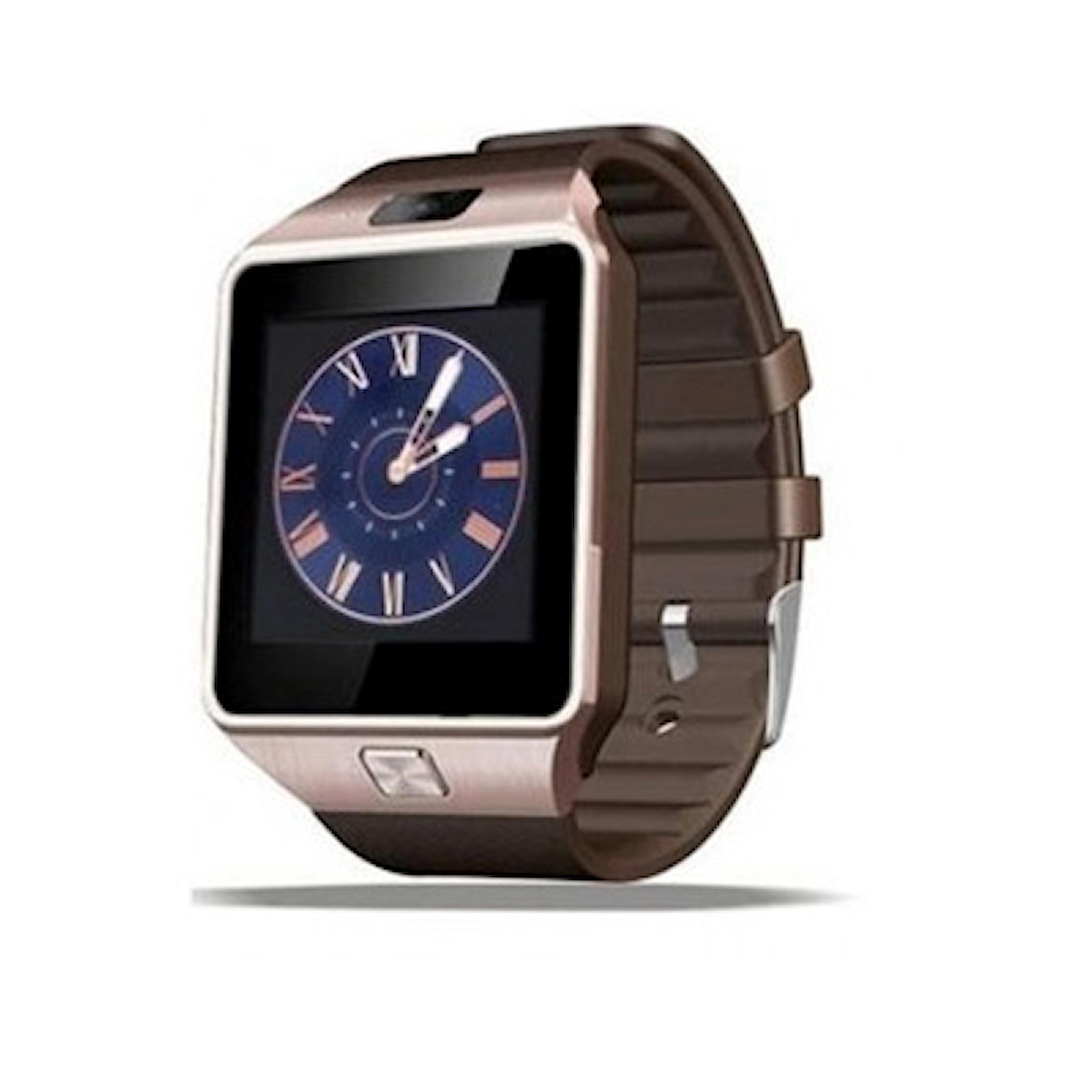 Guld/Brun, SMART Bluetooth Watch, 3 colors, Smartwatch, ,