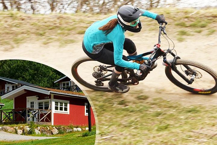 Downhill 5 pers inkl. boende och bikepass i Stockholm