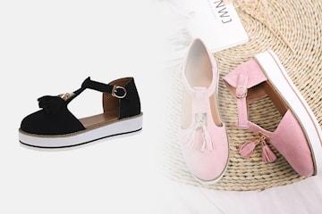 Sandal med tofs