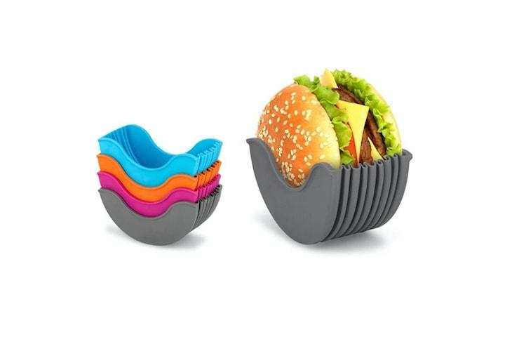2-pack hamburgarficka i silikon