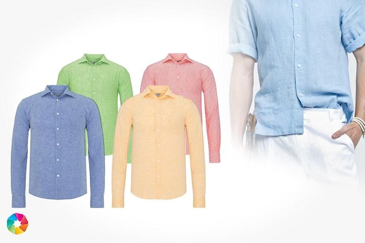 Linneskjorta från Jimmy Sanders