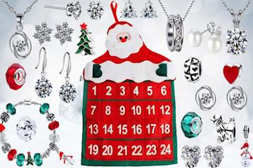 Julkalender med smycken