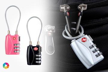 Kodlås för resväska