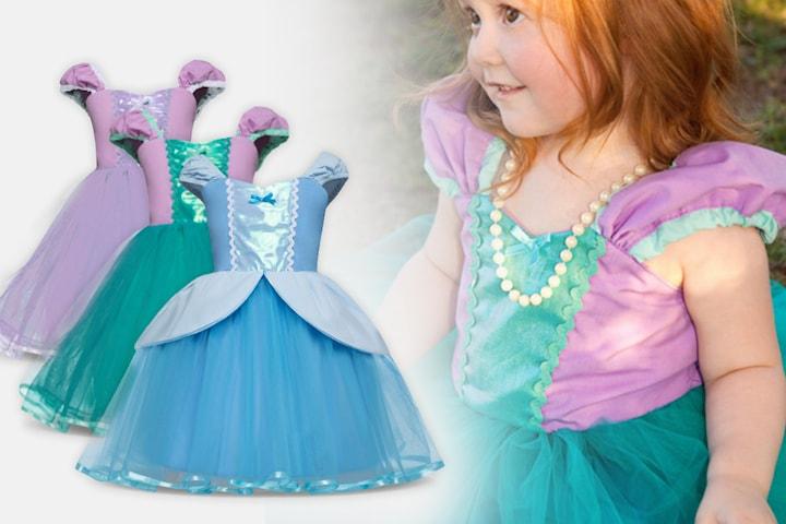 Prinsessklänning med tyll