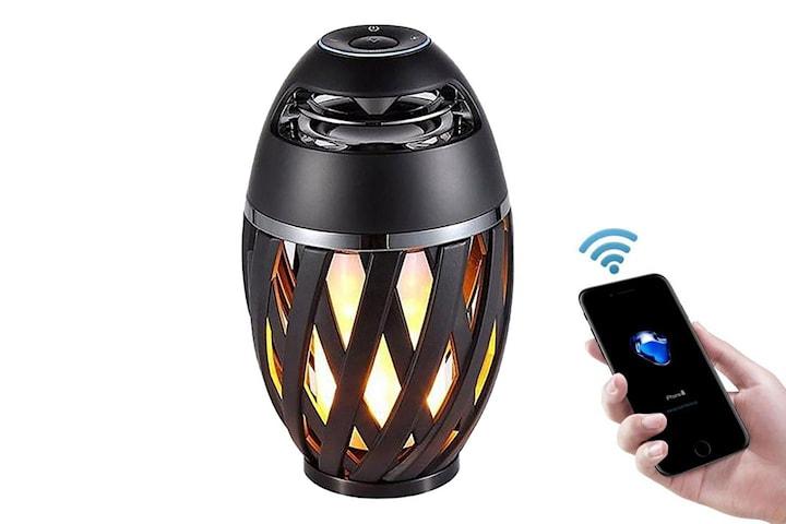 LED-lampa med Bluetooth-högtalare