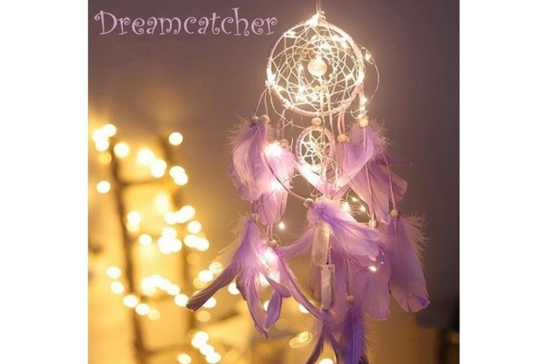 Drømmefanger med lys