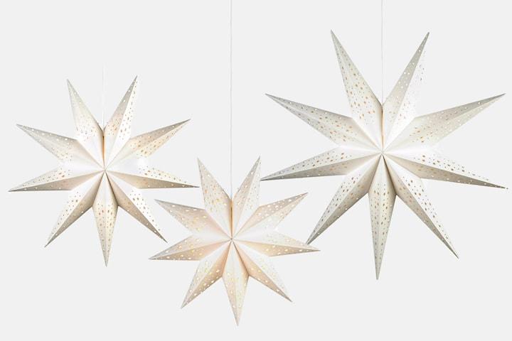Markslöjd Solvalla julstjärna 45, 75 eller 100 cm