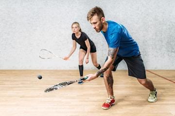 Squashspel för 2 på The Club Malmoe