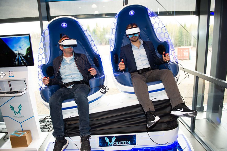 Vindtunnel, AR-klatrevegg og VR-simulator hos Modern Activity Center