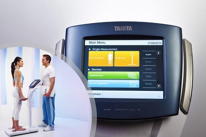 Kroppsmätning med Bioimpedansvåg TANITA MC 980