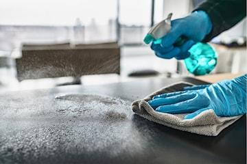 Profesjonelt utført flyttevask av inntil 200 kvm av Bergen Eiendomsservice AS