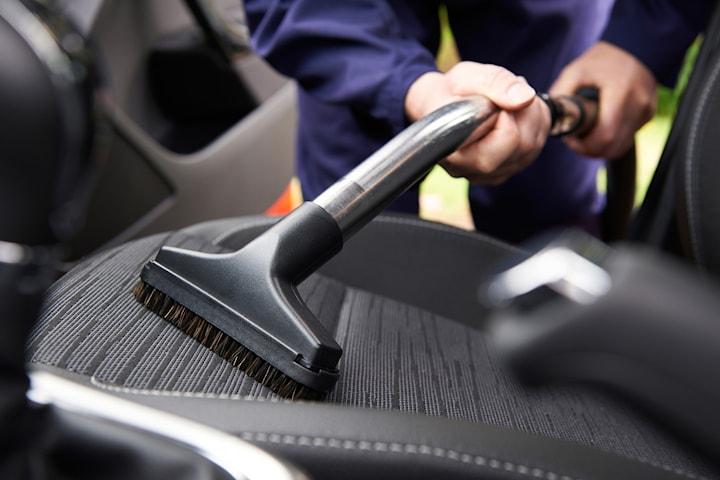 Klädseltvätt av bilen