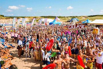 BeachvolleyFesten i Tylösand 27 juli