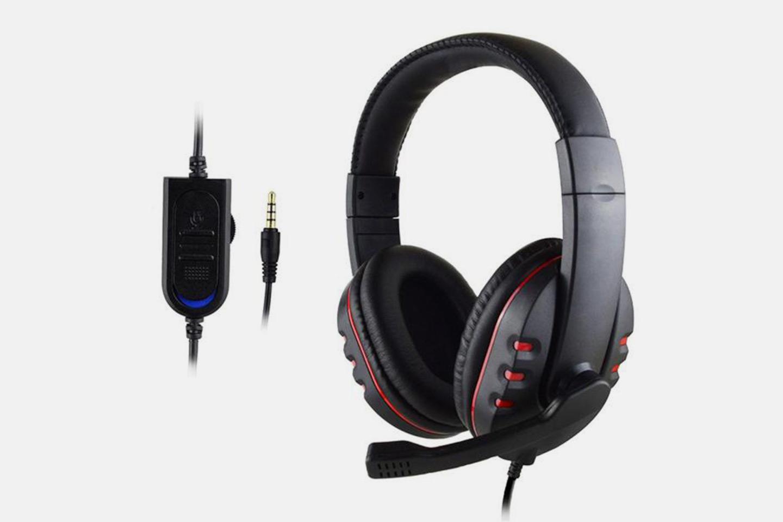 Gaming headphones til PS4, Xbox One og Nintendo Switch (1 av 7)