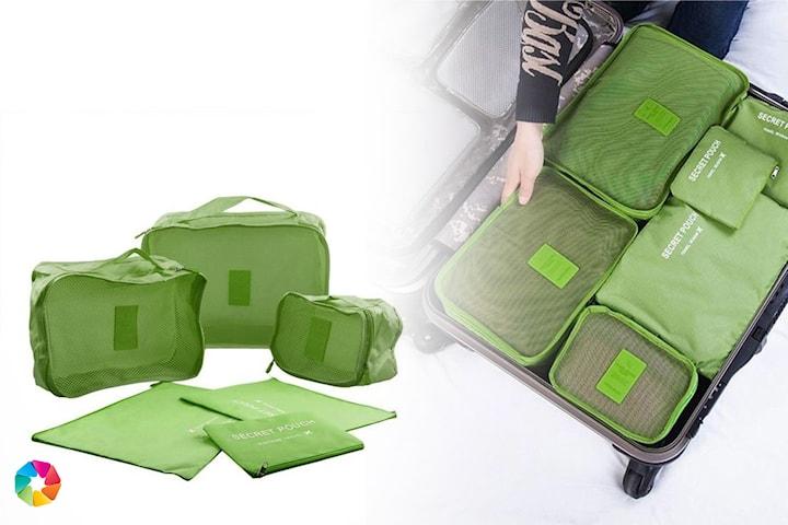 6-pack förvaringsväskor