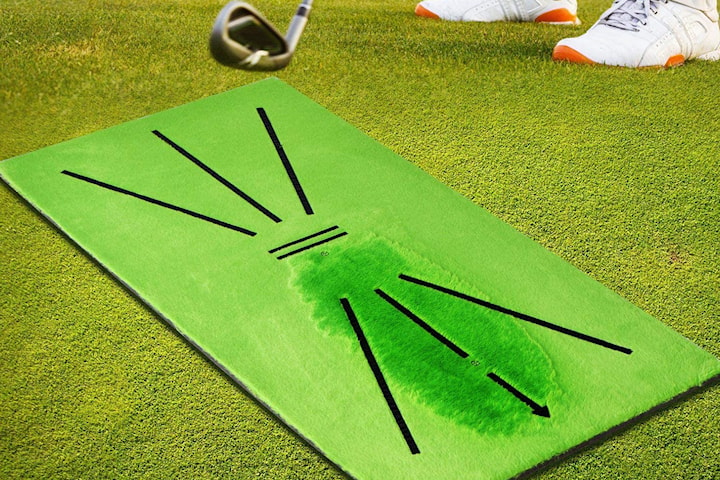 Treningsmatte golf